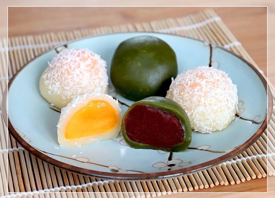 Mochi - Daifuku - Reiskuchen aus Japan