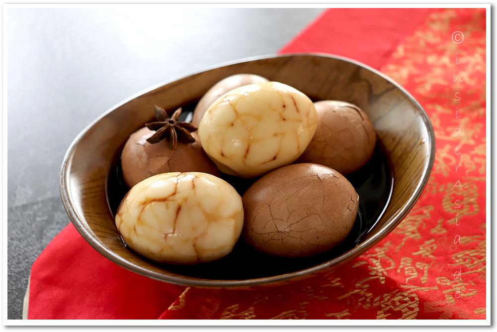 Chinesische gewürzte Tee-Eier