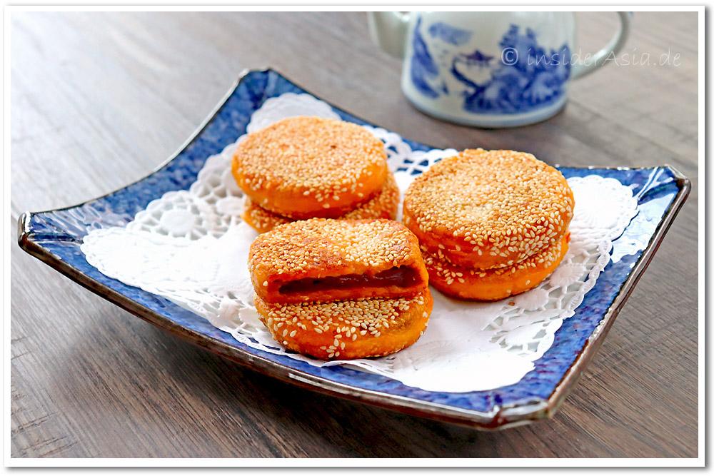 Kürbis-Reiskuchen