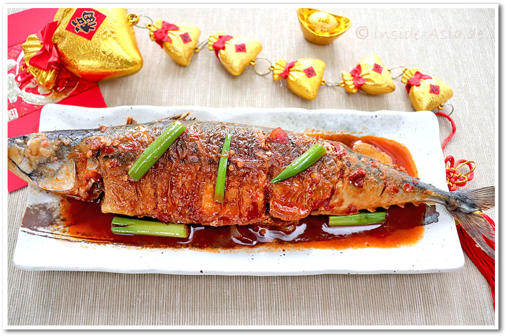 Red braised fish