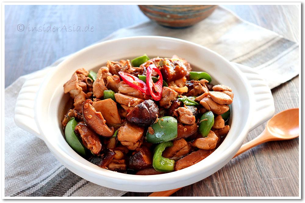 Eintopf mit Huhn chinesischer Art