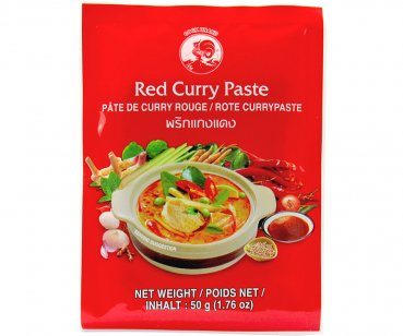 Thai Rote Currypaste, 50g