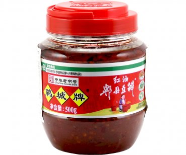 Bohnenpaste mit Chiliöl, Hong You Douban