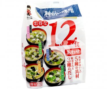Instant Misosuppe (Awase Miso)