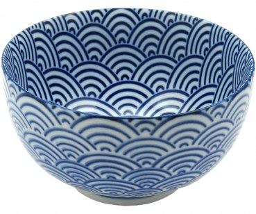 Okonomi Bowl, blue wave