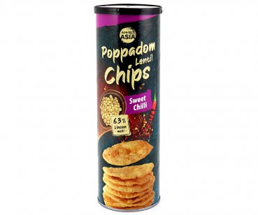Papadam Chips, Sweet Chili