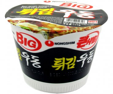 Instant Udon-Nudeln, Nong Shim - Big Bowl