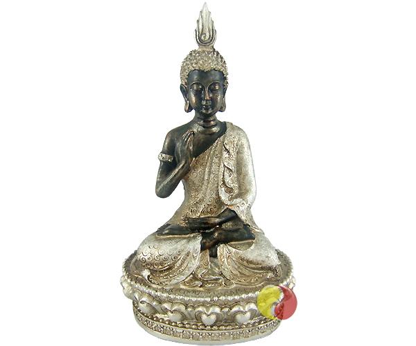 buddha figur auf podest insider asia feinkost lifestyle. Black Bedroom Furniture Sets. Home Design Ideas