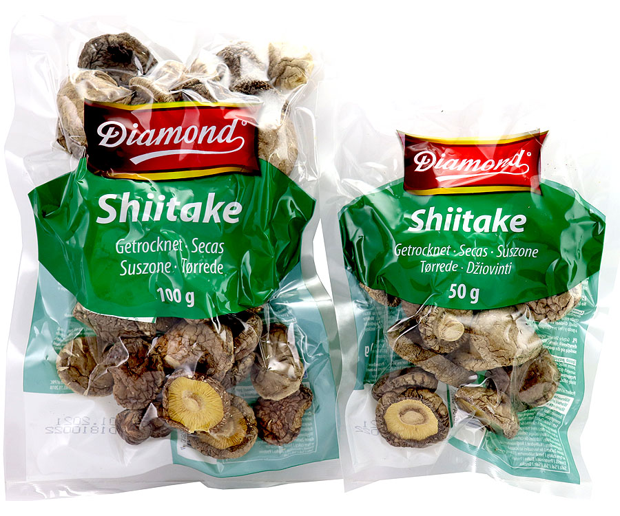 Shiitake Pilze Getrocknet