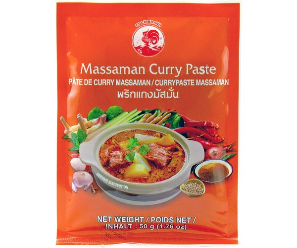 Thai Massaman Currypaste