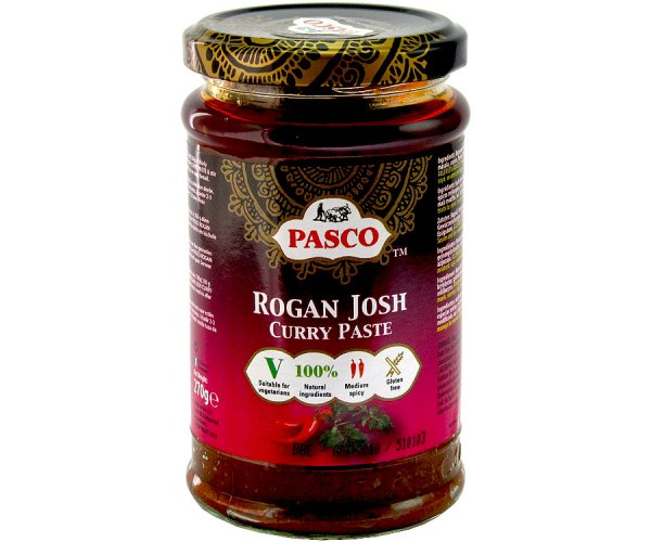 Rogan Josh Currypaste, Pasco