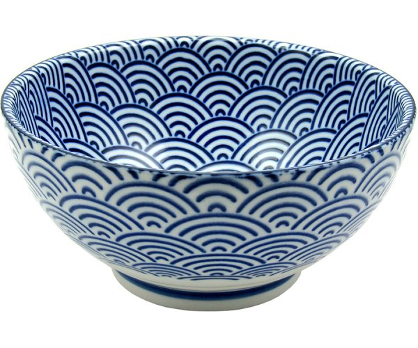 Sanuki Bowl, blue wave