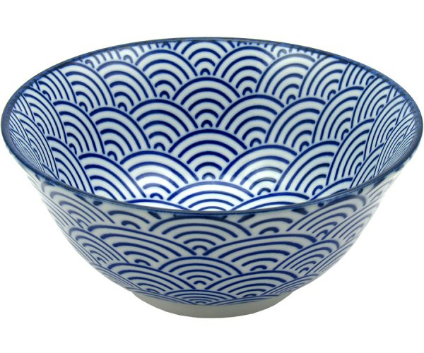 Tayo Bowl, blue wave